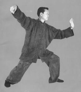 "Dong Zeng Chen showing ""Single Whip"""